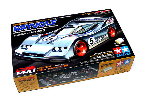 Tamiya Model Mini 4WD Racing Car PRO 1/32 No. 11 RAYVOLF Hobby 18611