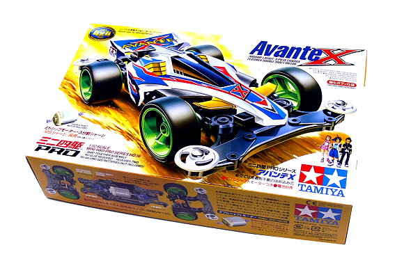 Tamiya Model Mini 4WD Racing Car PRO 1/32 Avante X Scale Hobby 18616 AA038