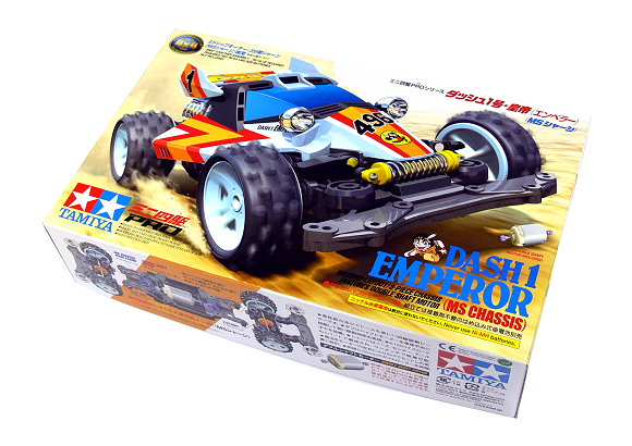 Tamiya Model Mini 4WD Racing Car 1/32 DASH 1 EMPEROR (MS Chassis) 18625