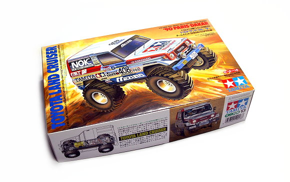 Tamiya Model Mini 4WD Racing Car 1/32 TOYOTA LAND CRUISER Hobby 19013