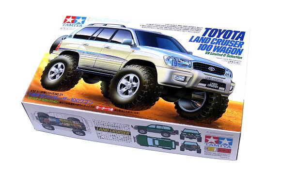 Tamiya Model Mini 4WD Racing Car 1/32 TOYOTA LAND CRUISER 100 WAGON 19021 AA028
