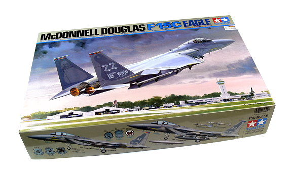 Tamiya Aircraft Model 1/32 Airplane McDNNELL douglas F-15C Eagle Hobby 60304