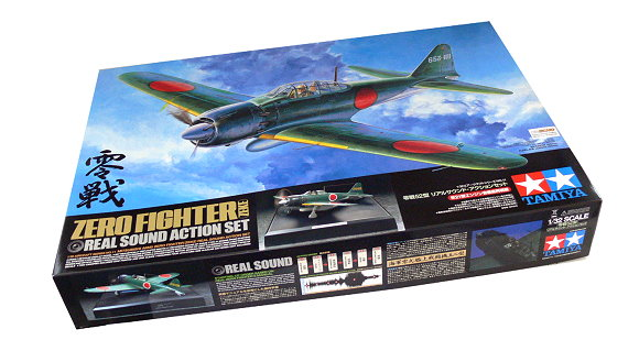 Tamiya Aircraft Model 1/32 Mitsubishi A6M5 ZERO FIGHTER ZEKE Real Sound 60311