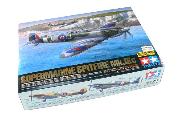 Tamiya Aircraft Model 1/32 Airplane Supermarine Spitfire Mk Ixc Hobby 60319