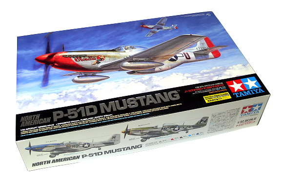 Tamiya Aircraft Model 1/32 Airplane North American P-51D Mustang Hobby 60322