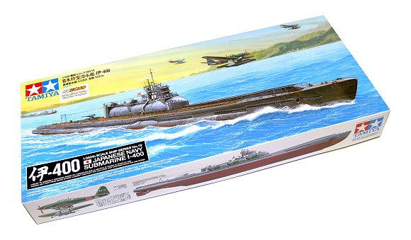 Tamiya Military Model 1/350 War Ship Japanese Navy SUBMARINE I-400 Hobby 78019