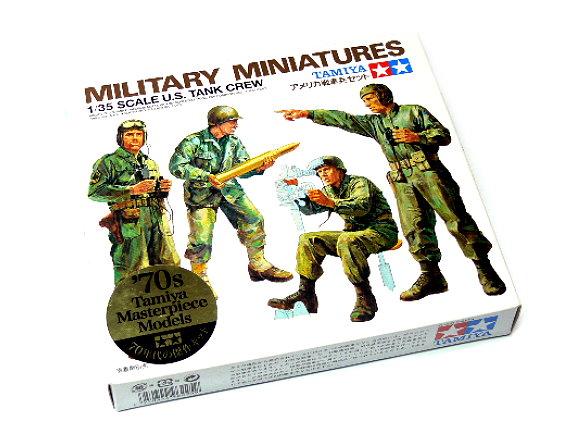 Tamiya Military Model 1/35 U.S Tank Crew Military Miniatures Scale Hobby 35004