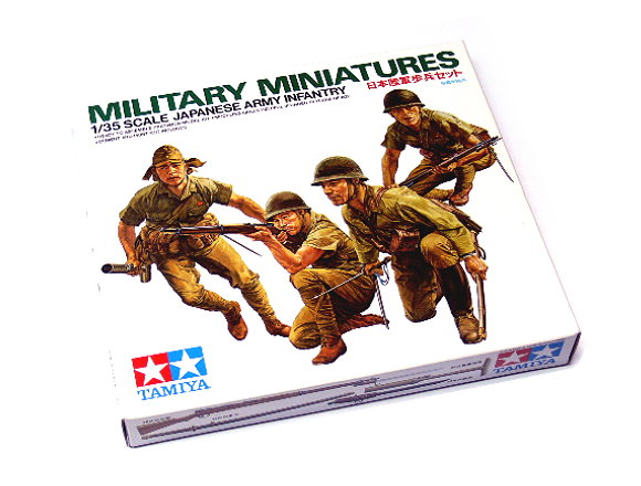 Tamiya Military Model 1/35 Japanese Army Infantry Military Miniatures 35090