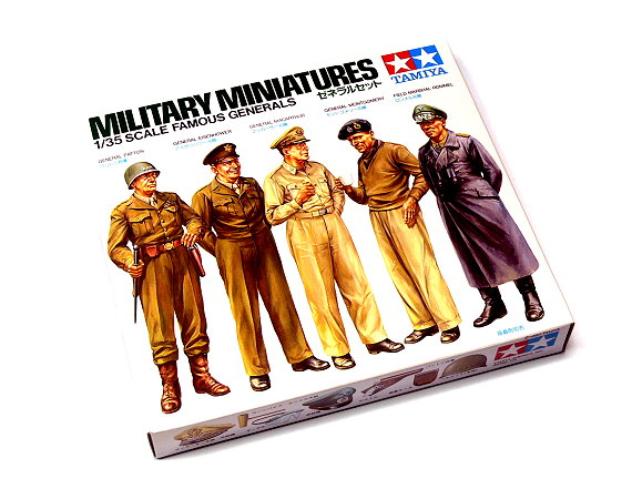 Tamiya Military Model 1/35 Famous Generals Military Miniatures Scale Hobby 35118