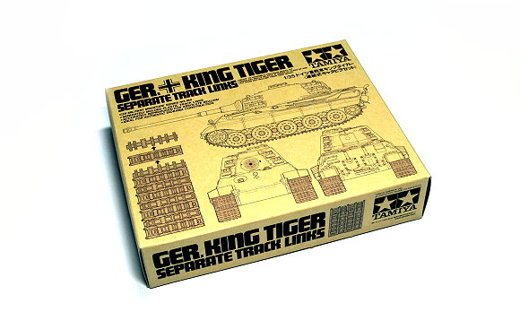 Tamiya Military Model 1/35 GER. KING TIGER Separate Track Links Hobby 35165