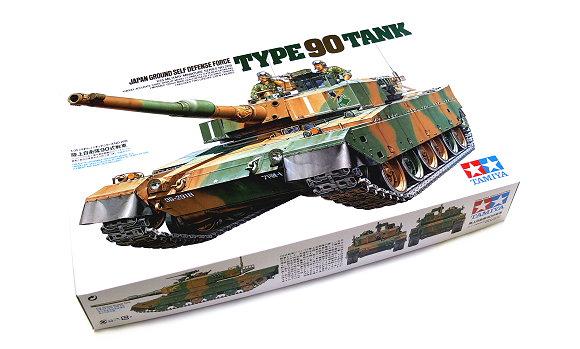 Tamiya Military Model 1/35 Japan Ground Self Defense Force Type 90 Tank 35208