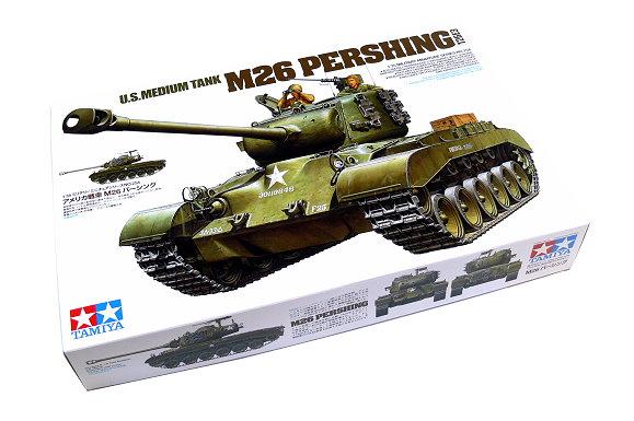 Tamiya Military Model 1/35 US Medium Tank M26 Pershing (T26E3) Scale Hobby 35254