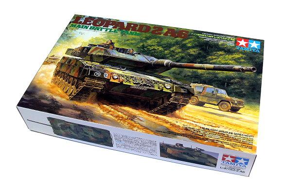 Tamiya Military Model 1/35 LEOPARD 2 A6 Main Battle Tank Scale Hobby 35271