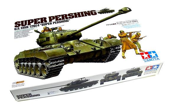 Tamiya Military Model 1/35 U.S. Tank T26E4 Super Pershing Scale Hobby 35319