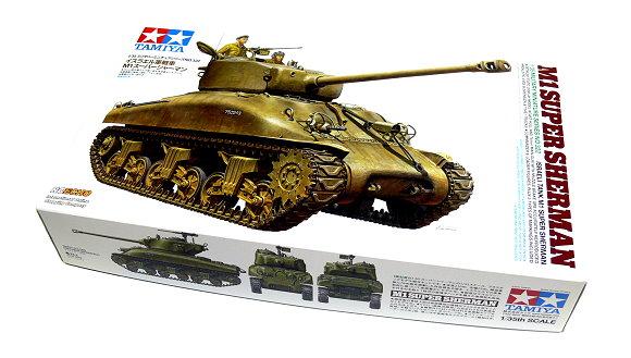 Tamiya Military Model 1/35 Israeli Tank M1 SUPER SHERMAN Scale Hobby 35322