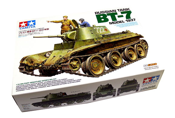 Tamiya Military Model 1/35 Russian Tank BT-7 Model 1937 Scale Hobby 35327