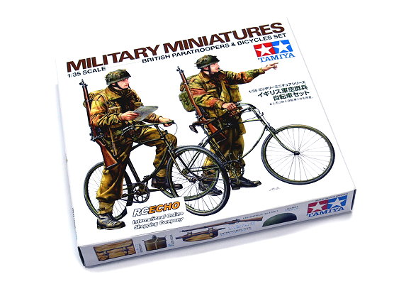 Tamiya Military Model 1/35 British Paratroopers & Bicycles Set Hobby 35333