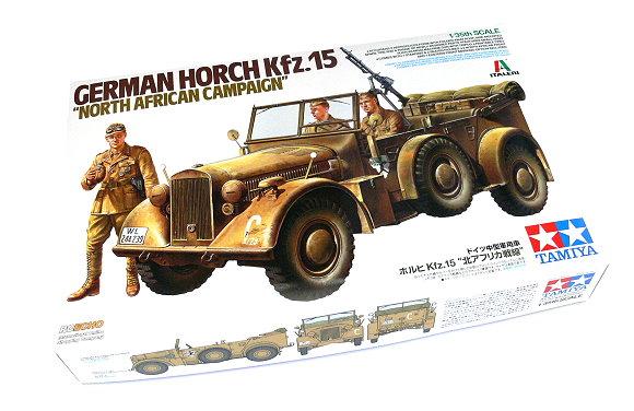 Tamiya Military Model 1/35 German Horch Kfz.15 NORTH AFRICAN CAMPAIGN 37015