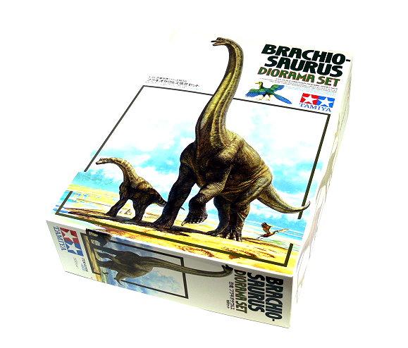 Tamiya Dinosaur Model 1/35 Diorama Set Brachiosarus Scale Hobby 60106