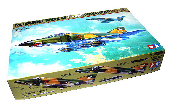 Tamiya Aircraft Model 1/32 Airplane McDONNELL DOUGLAS F-4E Phantom II 60310