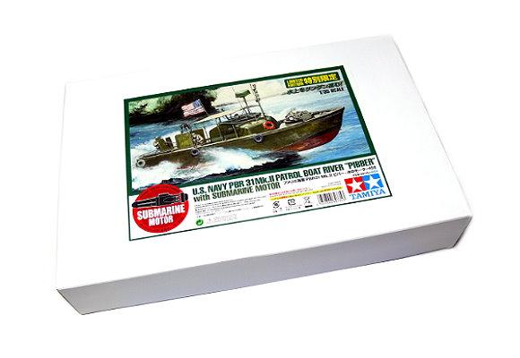 Tamiya Military Model 1/35 War Ship US Patrol Boat River PIBBER with Motor 89735