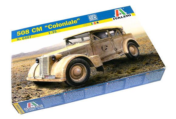 ITALERI Military Model 1/35 508 CM Coloniale Scalr Hobby 6497 T6497