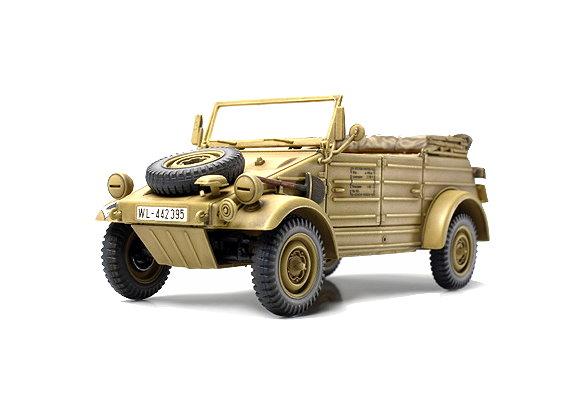 Tamiya Military Model 1/48 German Kubelwagen TYPE 82 (Finished Model) 26533
