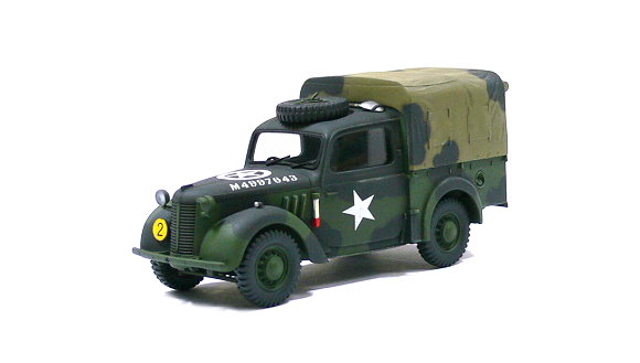 Tamiya Military Model 1/48 British Light Utility Car 10HP Camo. (Finished) 26545