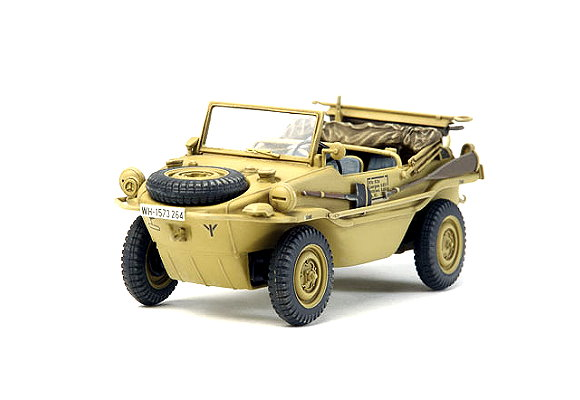 Tamiya Military Model 1/48 German Schwimmwagen T.166  Pkw.K2s (Finished) 26551