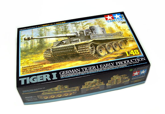 Tamiya Military Model 1/48 GermanTiger I Early Production Scale Hobby 32504