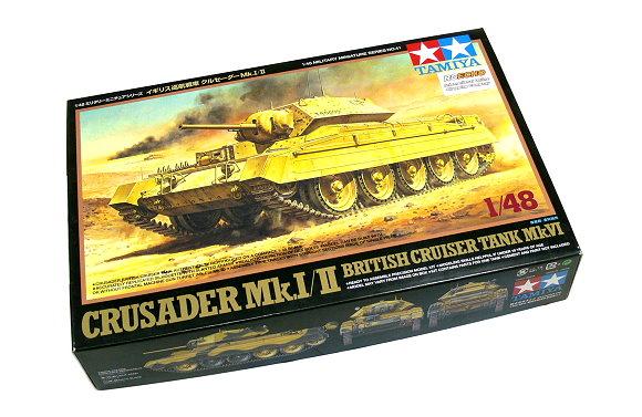 Tamiya Military Model 1/48 Crusader Mk.I / II British Cruiser Tank Mk.VI 32541