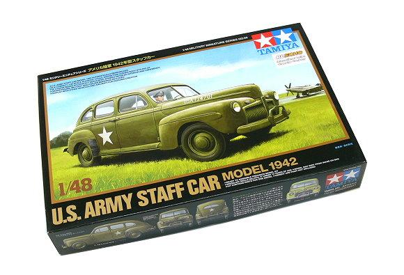 Tamiya Military Model 1/48 U.S Army Staff Car Model 1942 Scale Hobby 32559