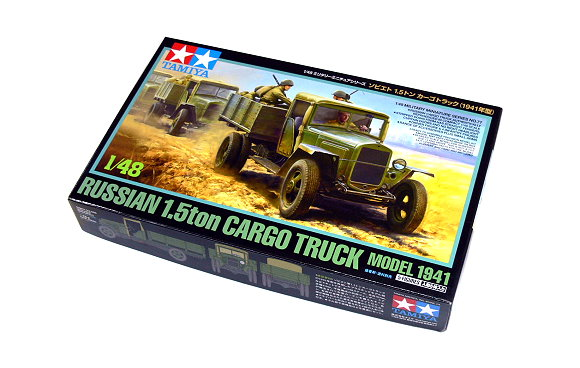 Tamiya Military Model 1/48 Russian 1.5ton Cargo Truck Model 1941 Hobby 32577
