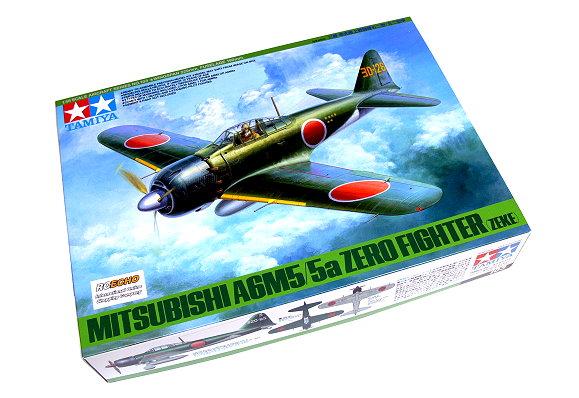 Tamiya Aircraft Model 1/48 Airplane MITSUBISHI A6M5/5a Zero Fighter (Zeke) 61103