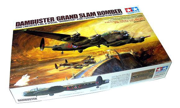 Tamiya Aircraft Model 1/48 Airplane DAMBUSTER / GRAND Slam Bomber Hobby 61111
