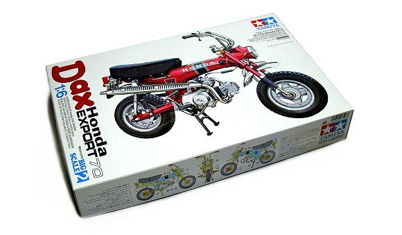 Tamiya Motorcycle Model 1/6 Motorbike Honda Dax EXPORT70 Scale Hobby 16002
