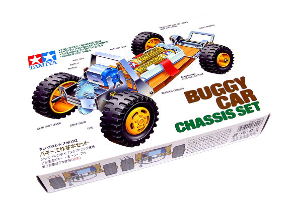 Tamiya Dynamic Model Educational Buggy Car Chassis Set 70112