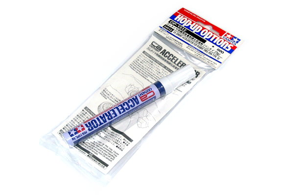 Tamiya Model Craft Tools CA Cement Accelerator for Rubber Tires Pen 54512