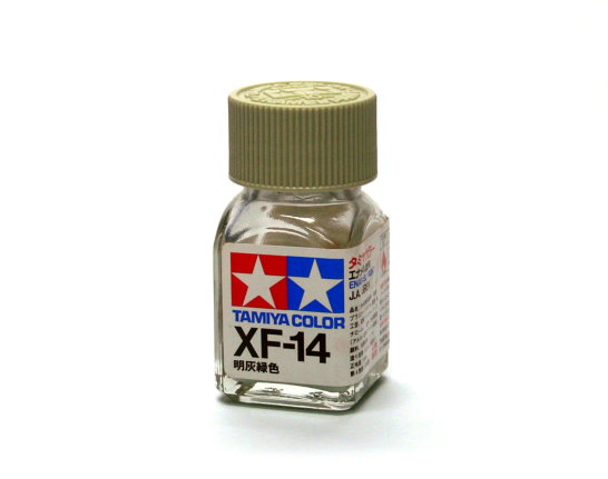 Tamiya Model Color Enamel Paint XF-14 J.A Grey Net 10ml 80314