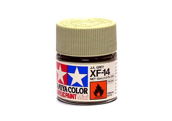 Tamiya Model Color Acrylic Paint XF-14  J.A. Grey Net 10ml 81714