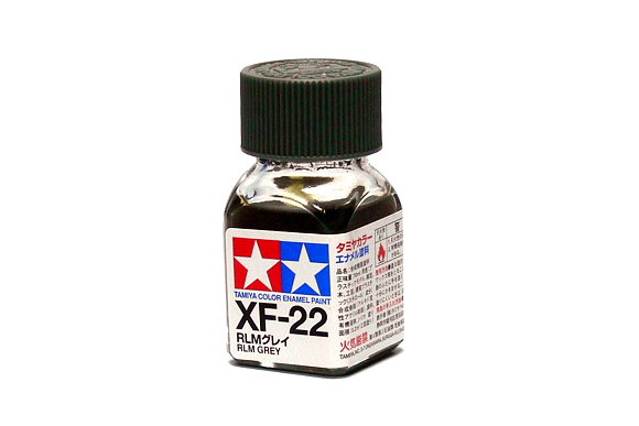 Tamiya Model Color Enamel Paint XF-22 Rlm Grey Net 10ml 80322