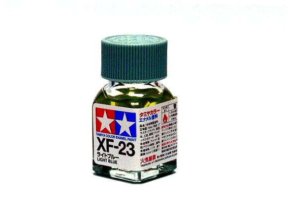 Tamiya Model Color Enamel Paint XF-23 Light Blue Net 10ml 80323