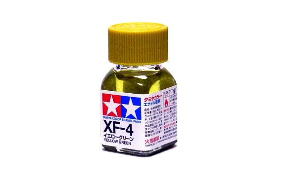 Tamiya Model Color Enamel Paint XF-4 Yellow Green Net 10ml 80304
