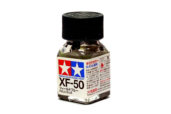 Tamiya Model Color Enamel Paint XF-50 Field Blue Net 10ml 80350
