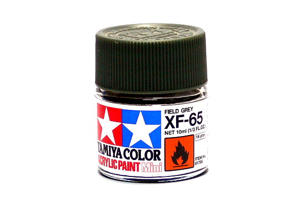 Tamiya Model Color Acrylic Paint XF-65 Field Grey Net 10ml 81765