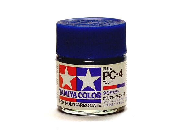 Tamiya Model Color PC-4 Blue Net 23ml for Polycarbonate 82004