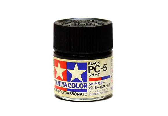 Tamiya Model Color PC-5 Black Net 23ml for Polycarbonate 82005
