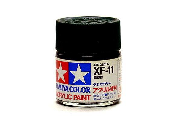 Tamiya Model Color Acrylic Paint XF-11 J.N. Green Net 23ml 81311