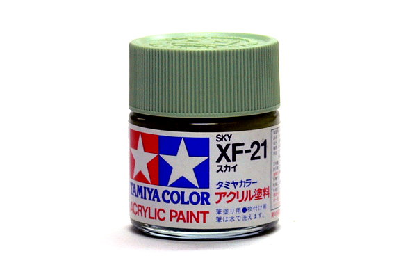 Tamiya Model Color Acrylic Paint XF-21 Sky Net 23ml 81321