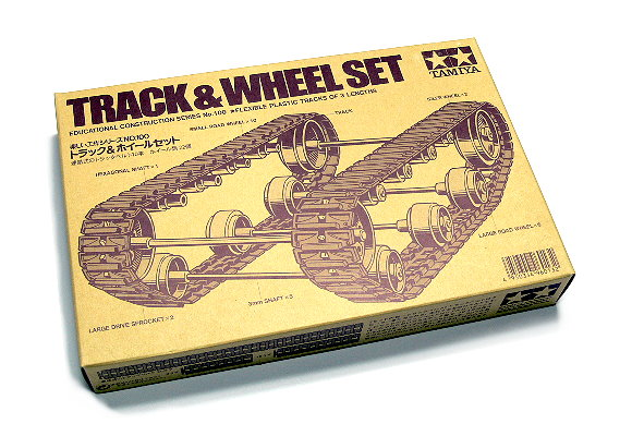 Tamiya Dynamic Model Educational Track & Wheel Set 70100